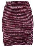 GURU SHOP Minirock, Strickrock, Ethnorock, Damen, Rot, Baumwolle, Size:36, Röcke/Kurz Alternative Bekleidung